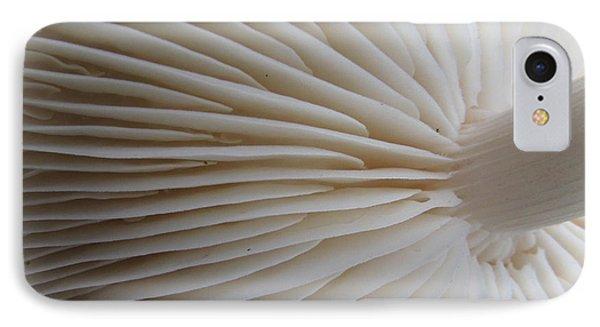 Perfect Round White Mushroom Phone Case by Tina M Wenger