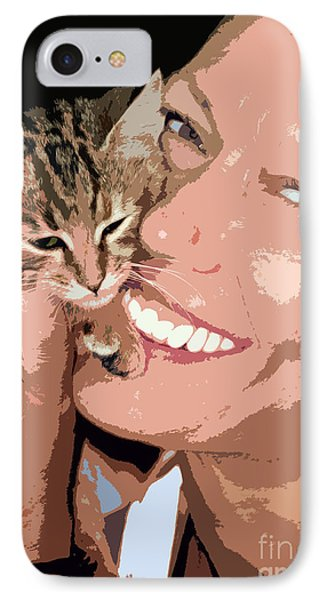 Perfect Smile IPhone Case by Stelios Kleanthous
