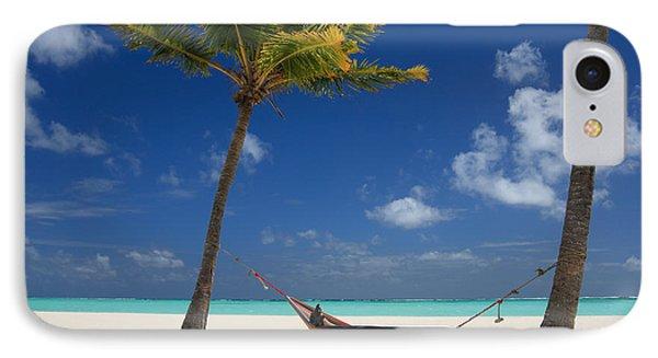 Perfect Tropical Beach Phone Case by Karen Lee Ensley