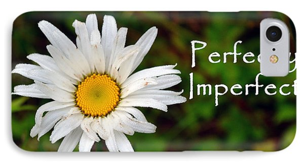 Perfectly Imperfect Daisy Flower IPhone Case