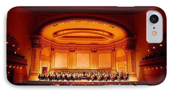Performers On A Stage, Carnegie Hall IPhone Case by Panoramic Images