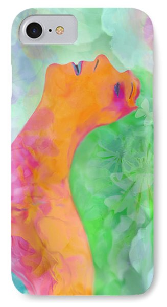 IPhone Case featuring the digital art Perfume Of Love by Martina  Rathgens