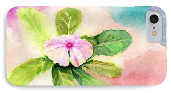IPhone Case featuring the painting Periwinkle by C Sitton