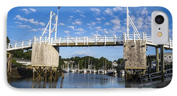 Perkins Cove - Maine IPhone Case by Steven Ralser