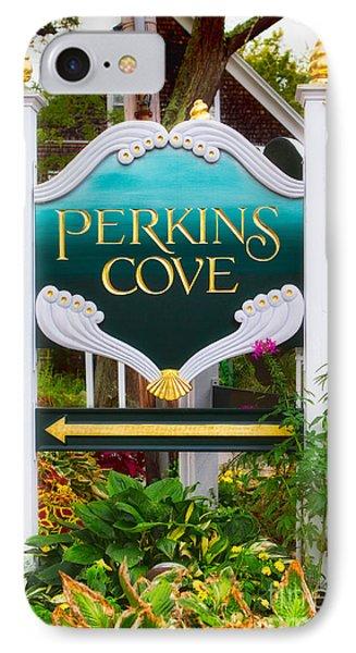 Perkins Cove Sign IPhone Case