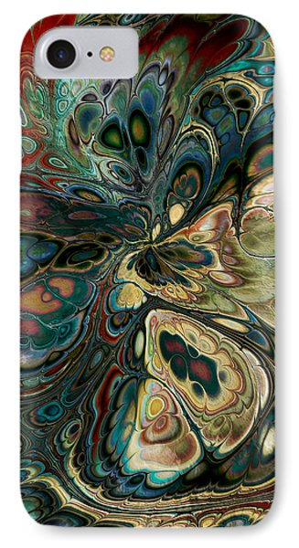 IPhone Case featuring the digital art Perlin Party by Kim Redd
