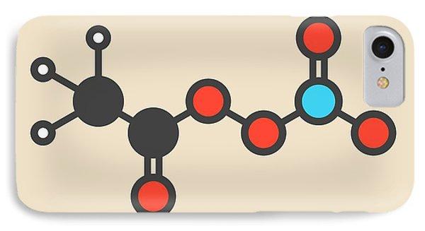 Peroxyacetyl Nitrate Pollutant Molecule IPhone Case