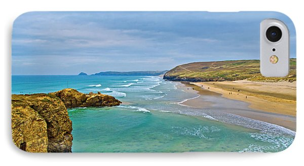 Perranporth Beach IPhone Case