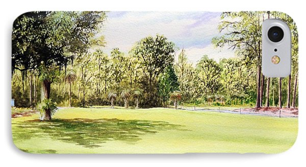Perry Golf Course Florida  Phone Case by Bill Holkham