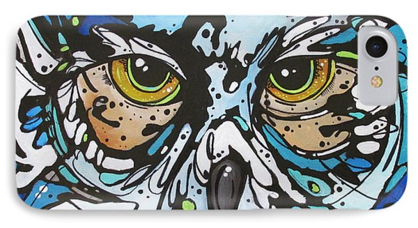 IPhone Case featuring the painting Perry by Nicole Gaitan