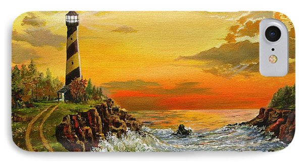 Perry's Point IPhone Case by Kevin F Heuman