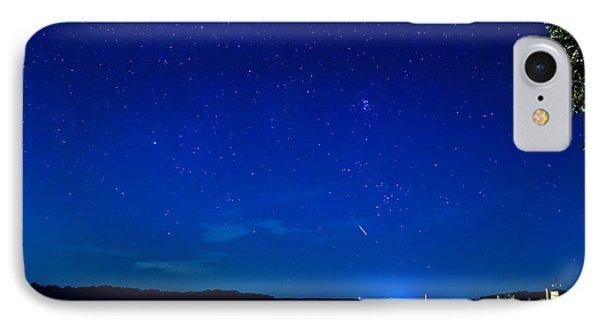 Perseid Meteor IPhone Case by Charles Hite
