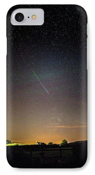 Perseid Meteor Trail 2015 IPhone Case