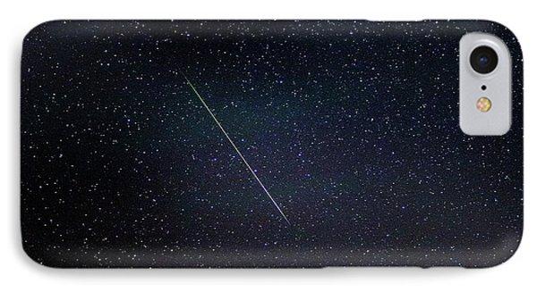 Perseid Meteor Trail IPhone Case
