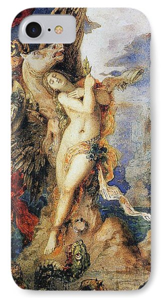 Perseus And Andromeda IPhone Case by Gustave Moreau