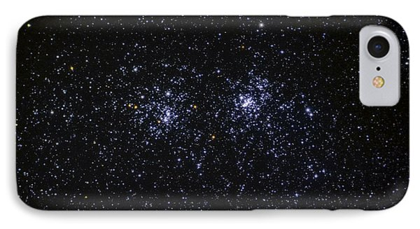 IPhone Case featuring the photograph Perseus Double Cluster Ngc 869 by Dennis Bucklin