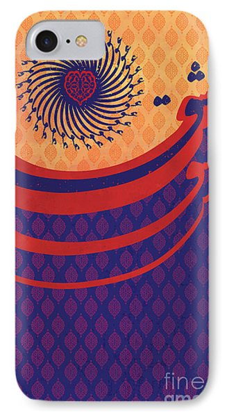 Persian Caligraphy IPhone Case by Sassan Filsoof