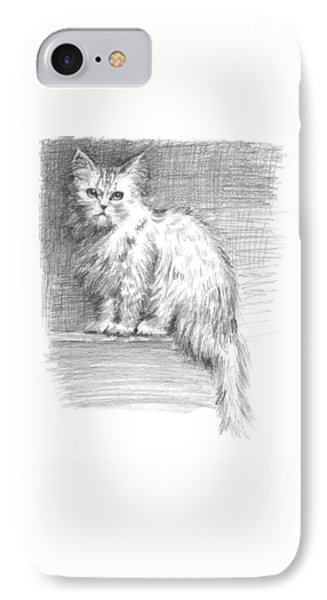 Persian Cat Phone Case by Sarah Parks