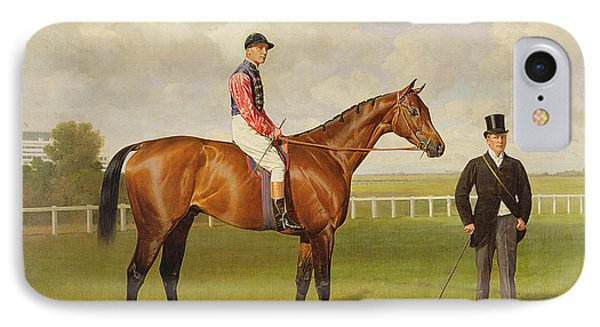 Persimmon Winner Of The 1896 Derby IPhone Case