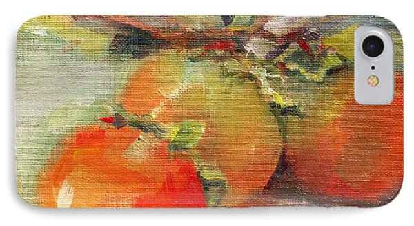 Persimmons IPhone Case by Michelle Abrams