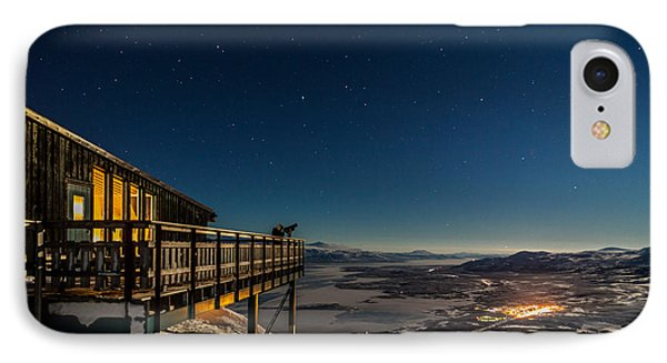 Person Viewing The Stars At The Abisko IPhone Case