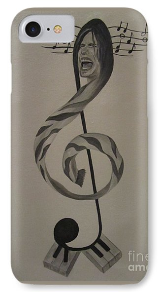 Personification Of Music IPhone Case