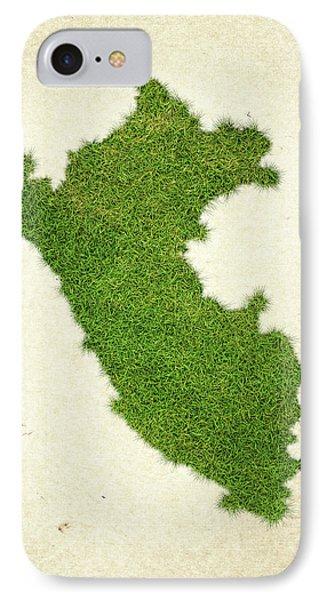 Peru Grass Map IPhone Case