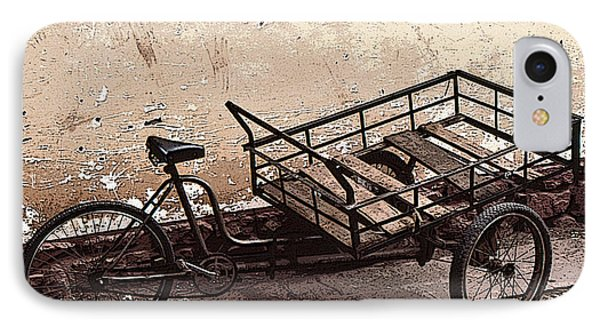 IPhone Case featuring the photograph Peruvian Market Transport by Christopher McKenzie