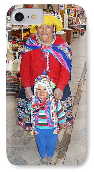 Peruvian Mother And Child Phone Case by Eva Kaufman