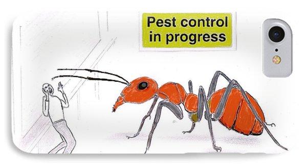 Pest Control IPhone Case