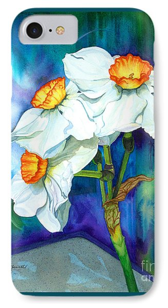 Petal Portrait IPhone Case by Barbara Jewell