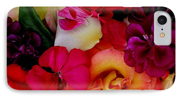 IPhone Case featuring the photograph Petal River by Jeanette French
