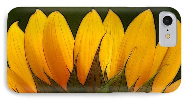 Petales De Soleil - A01 Phone Case by Variance Collections