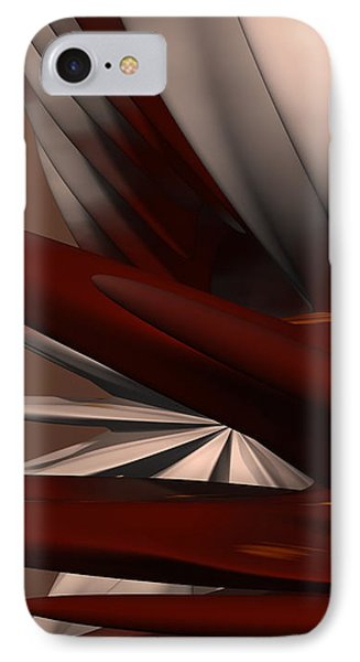 Petals And Stone 2 IPhone Case by Judi Suni Hall