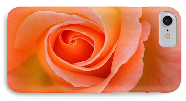 IPhone Case featuring the photograph Petals Of Peach by Rowana Ray