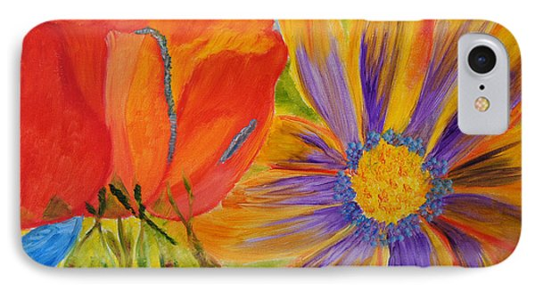 Petals Up Close IPhone Case by Meryl Goudey