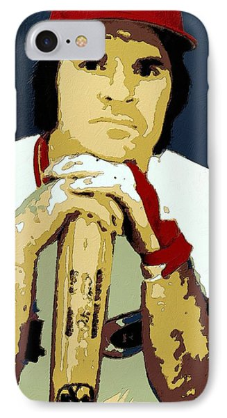 Pete Rose Poster Art IPhone Case