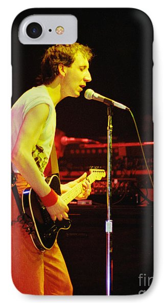 Pete Townsend Of The Who At Oakland Ca 1980 IPhone Case