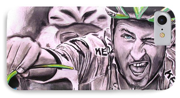 Peter Sagan Phone Case by Eric Dee