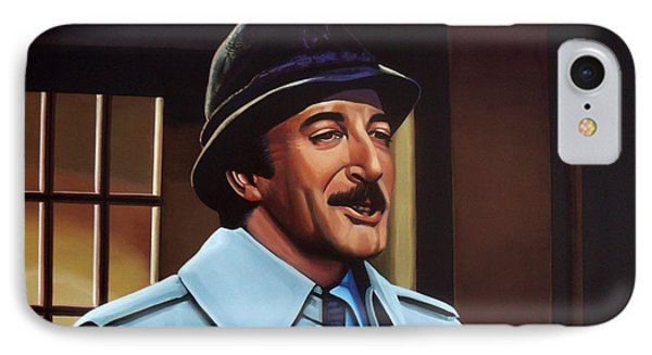 Peter Sellers As Inspector Clouseau  IPhone 7 Case by Paul Meijering