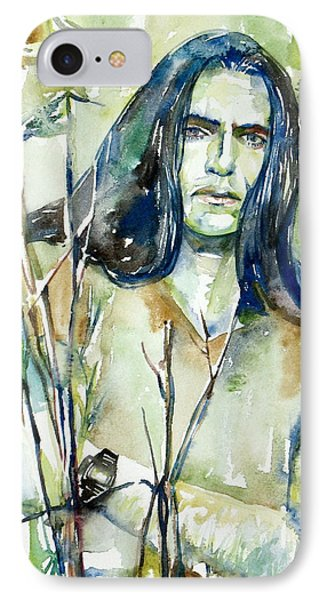 Peter Steele Portrait.1 IPhone Case
