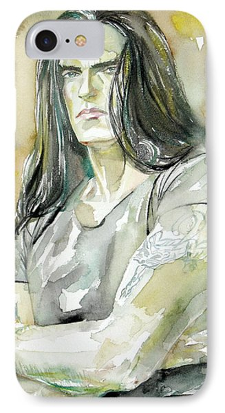 Peter Steele Portrait.2 IPhone Case