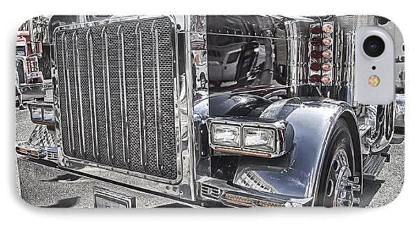 Peterbilt 2005 IPhone Case by Theresa Tahara