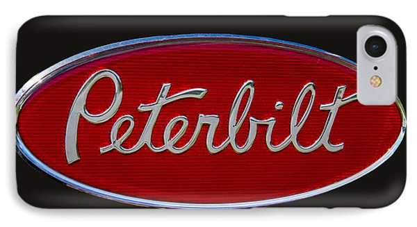 Peterbilt Semi Truck Logo Emblem IPhone 7 Case