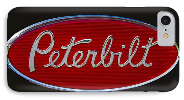 Peterbilt Semi Truck Logo Emblem IPhone Case