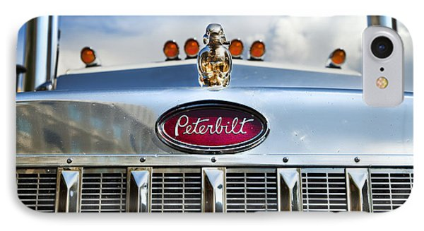 Peterbilt IPhone Case by Theresa Tahara