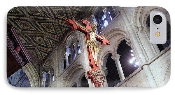 IPhone Case featuring the photograph Peterborough Cathedral England by Jolanta Anna Karolska