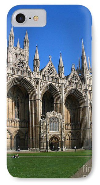 Peterborough Cathedral IPhone Case by Jason O Watson