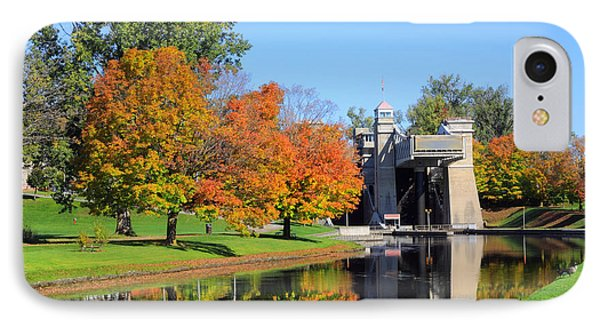 Peterborough Lift Lock IPhone Case by Charline Xia