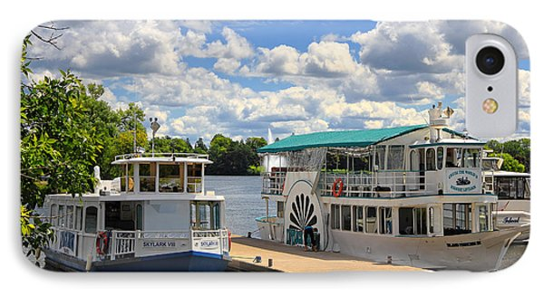 Peterborough Liftlock Cruise IPhone Case by Charline Xia